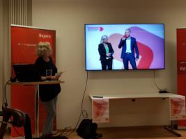 Hier werden Hilde Mattheis und Dierk Hirschel vorgestellt.