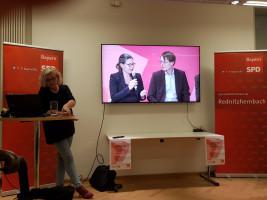 Auch Nina Scheer und Karl Lauterbach wurden in Rednitzhembach vorgestellt.