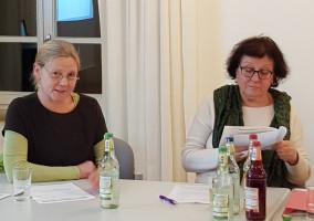 Ursula Klobe und Irene Schinkel