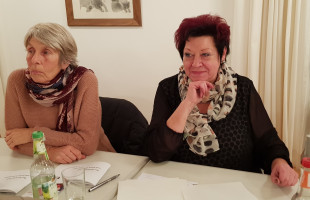 Dr. Hannedore Nowotny und Christine Rodarius