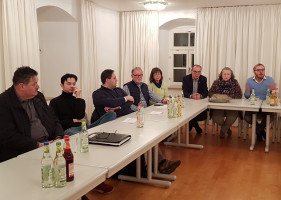 Benno Schuh, Dr. Benjamin Beringer, Andreas Buckreus, Robert Gödel, Anita Kohl, Heinz Röttenbacher, Maria Bauer, Marcel Schneider