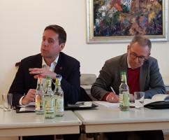 Ben Schwarz und Felix Fröhlich