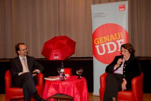 Kamingespräch mit Edith von Welser-Ude und Markus Rinderspacher