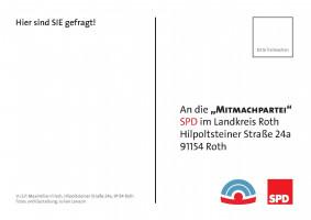 Postkarte Rückeite