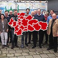 Teilnehmer der Ersten landkreisweite Fachtagung für SPD-Stadt- und Gemeinderäte