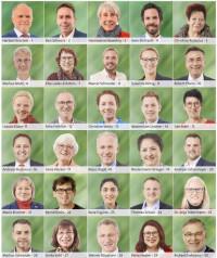 1.-30. Kandidaten der SPD-Kreistagsliste