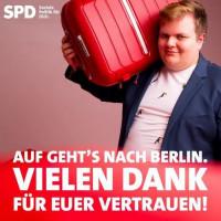 Jan Plobner wird uns als Bundestagsabgeordneter vertreten