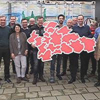 Kleine Kommunalwahl im Jahr 2017 im Landkreis Roth