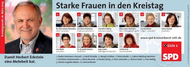 Starke Frauen in den Kreistag