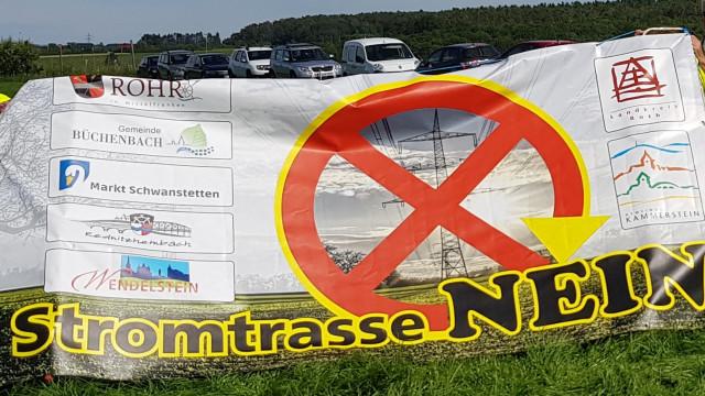 Appell an Bundestagsabgeordnete! 380-kV-Juraleitung ablehnen!